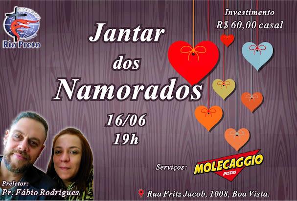 Jantar dos Namorados - 16/06/18