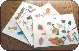 Holiday placemats ~ Life in Random Bits #holidays #crafts #diy