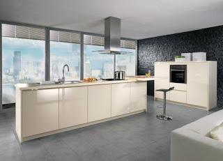 Modern Cream Kitchen Cabinets