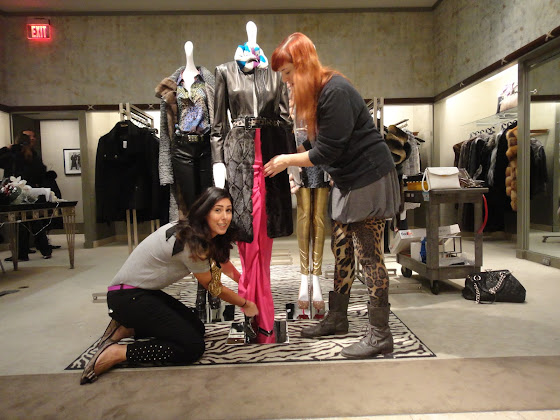 Fashion Junkie styling Brandon Sun's look for Neiman Marcus event