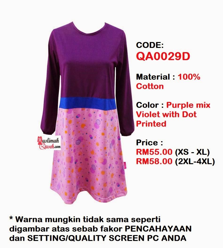 T-Shirt-Muslimah-Qaseh-QA0029D