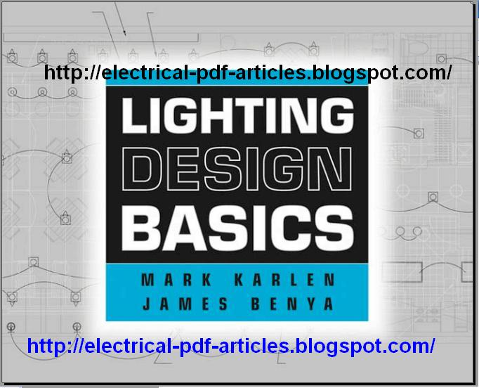 electrical articles pdf lighting design basics by mark karlen