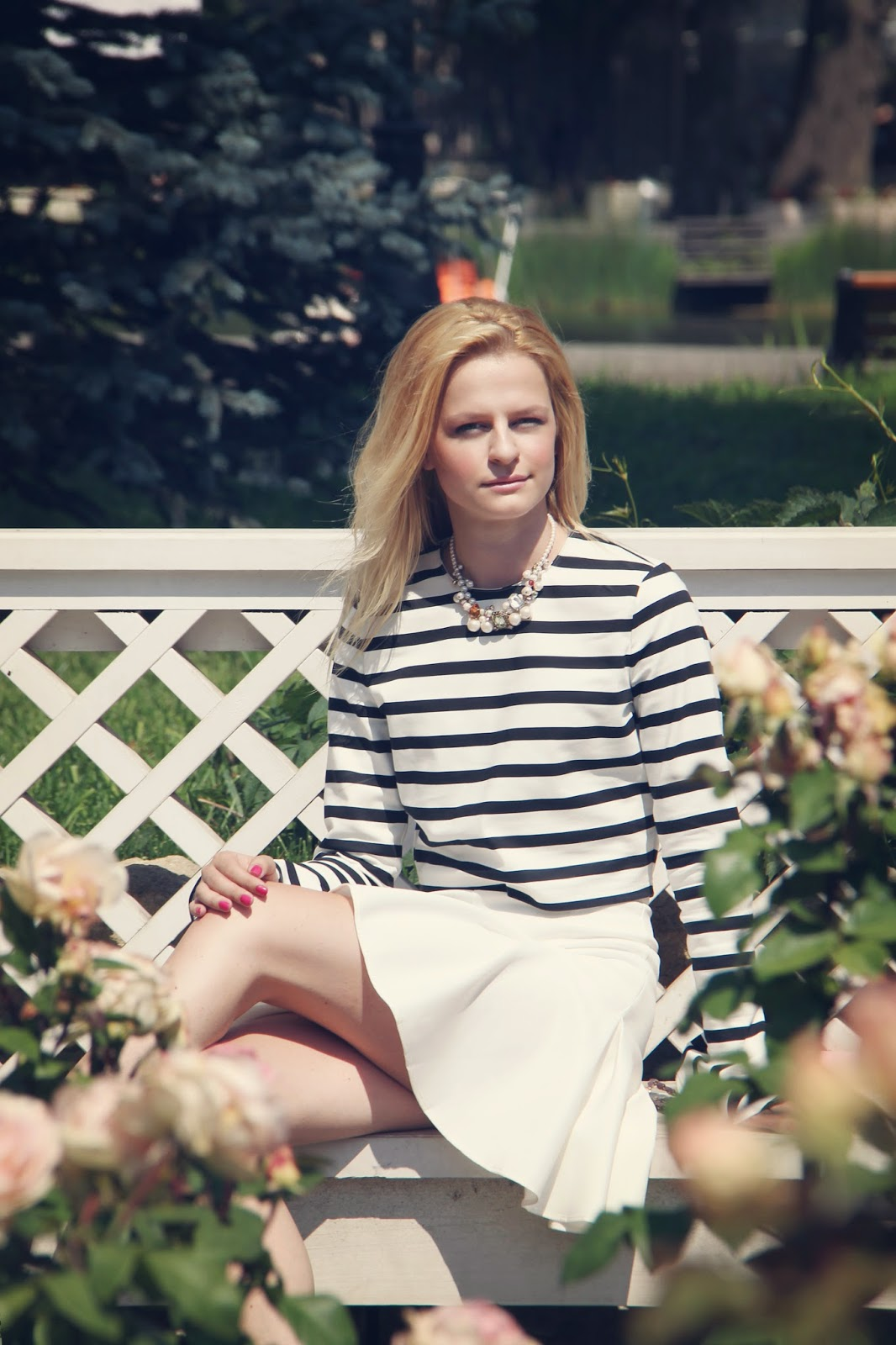 how to wear crop top, как носить укороченый топ, летние луки, модный блоггер