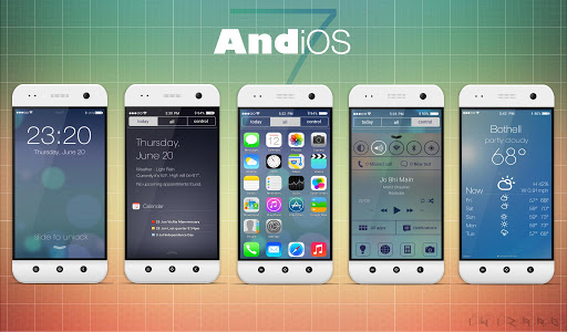 AndiOS7 Theme Pack Android