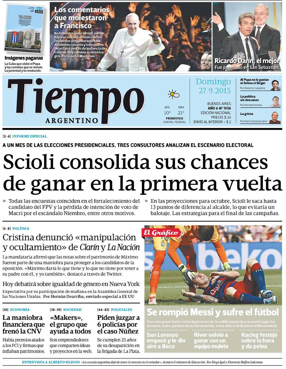 S Bado 27 6 15 Diario Digital # Sabino Muebles Pehuajo