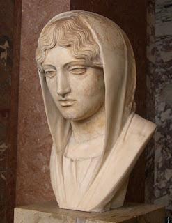 Busto de Afrodita Sosandra. Escultor griego Calamis. Escultor griego. Grecia. Escultores griegos antiguos.