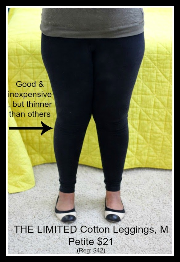 Curvy, Petite Outfit Ideas | Professional and Casual-Chic Fashion and Style Inspiration | the limited legging review