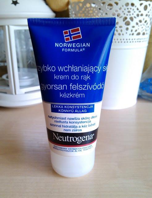 Neutrogena, Formuła Norweska, Szybko wchłaniający się krem do rąk