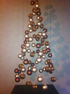 Merry christmas luftmasche - Weihnachtsbaum aus pappe ...