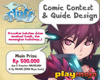 Comic Contest & Guide Design Flyff dunialombaku.blogspot.com