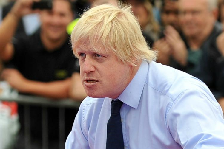 Finest Prints Boris Johnson Wiff Waff Mens Tank Top Shirt