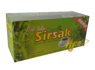 Teh Celup Daun Sirsah Herbal