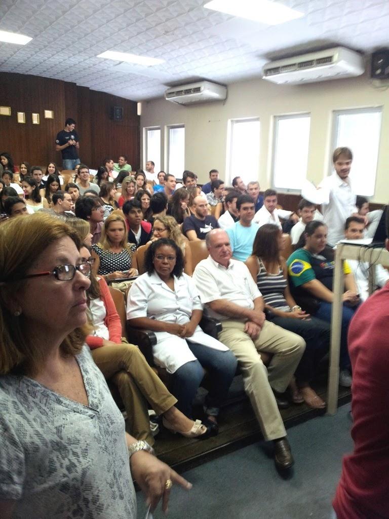 Hospital Federal de Bonsucesso realiza recepção para estudantes de Medicina do UNIFESO