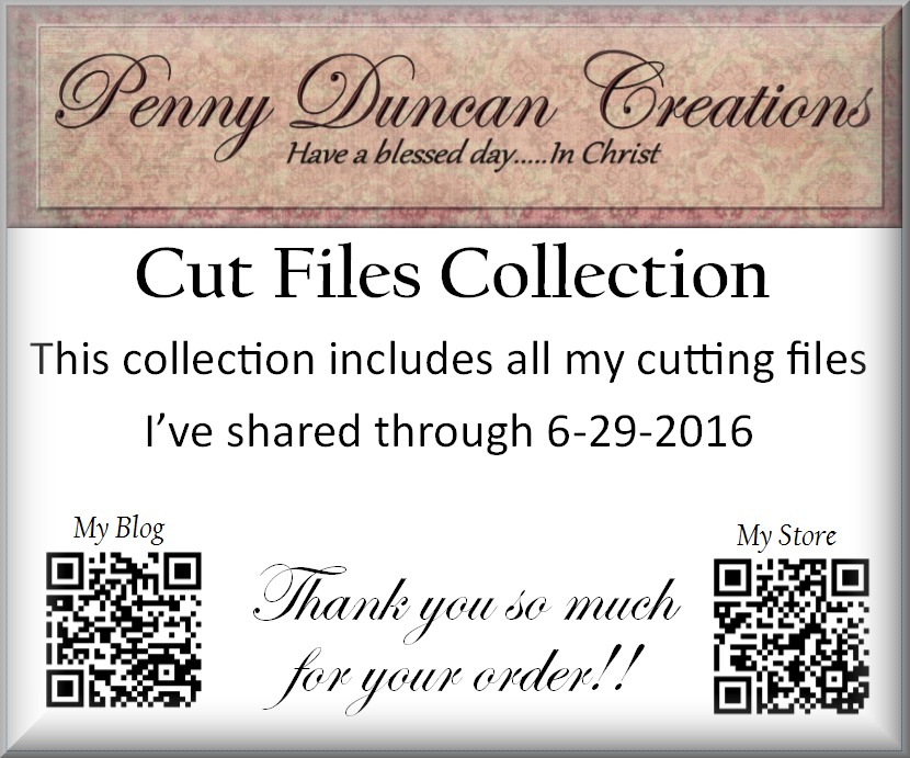 PDC Cutting Files Collection CD