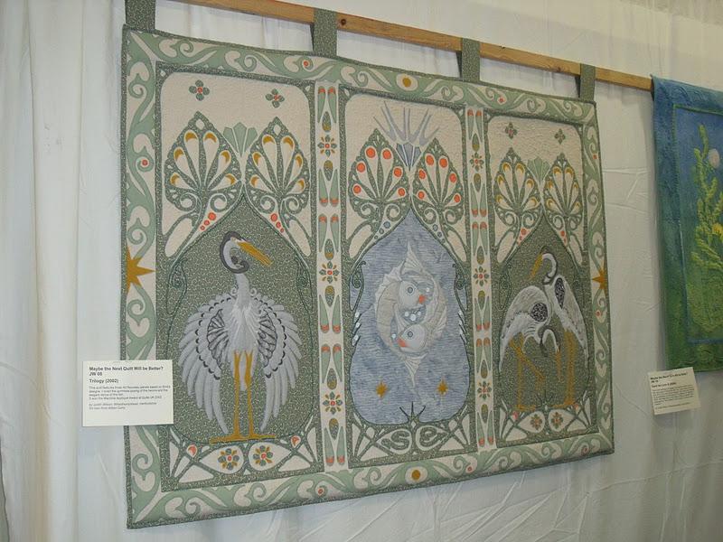 Maygreen Fairies: January 2012 : art nouveau quilts - Adamdwight.com