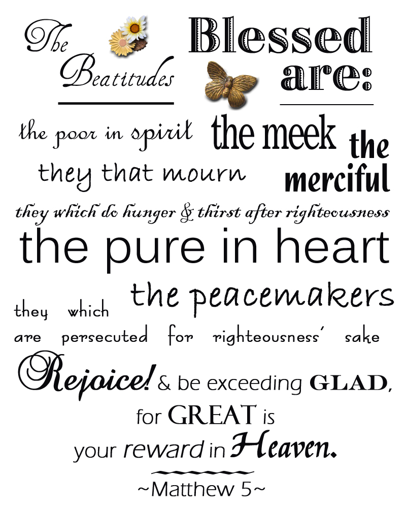 pin beatitudes for kids list of the on pinterest