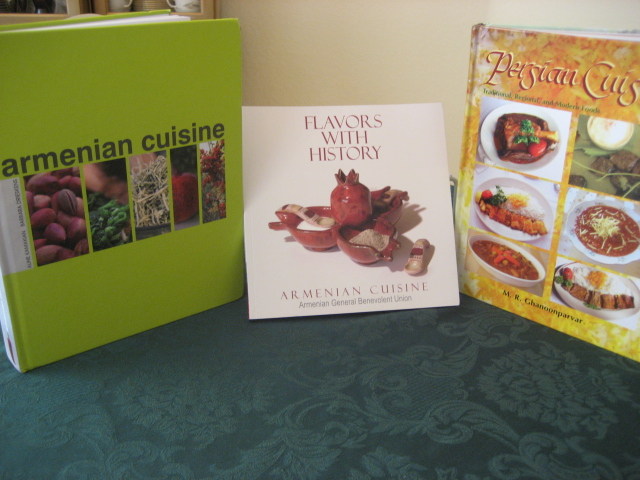 You can never have too many for Armenian cuisine book