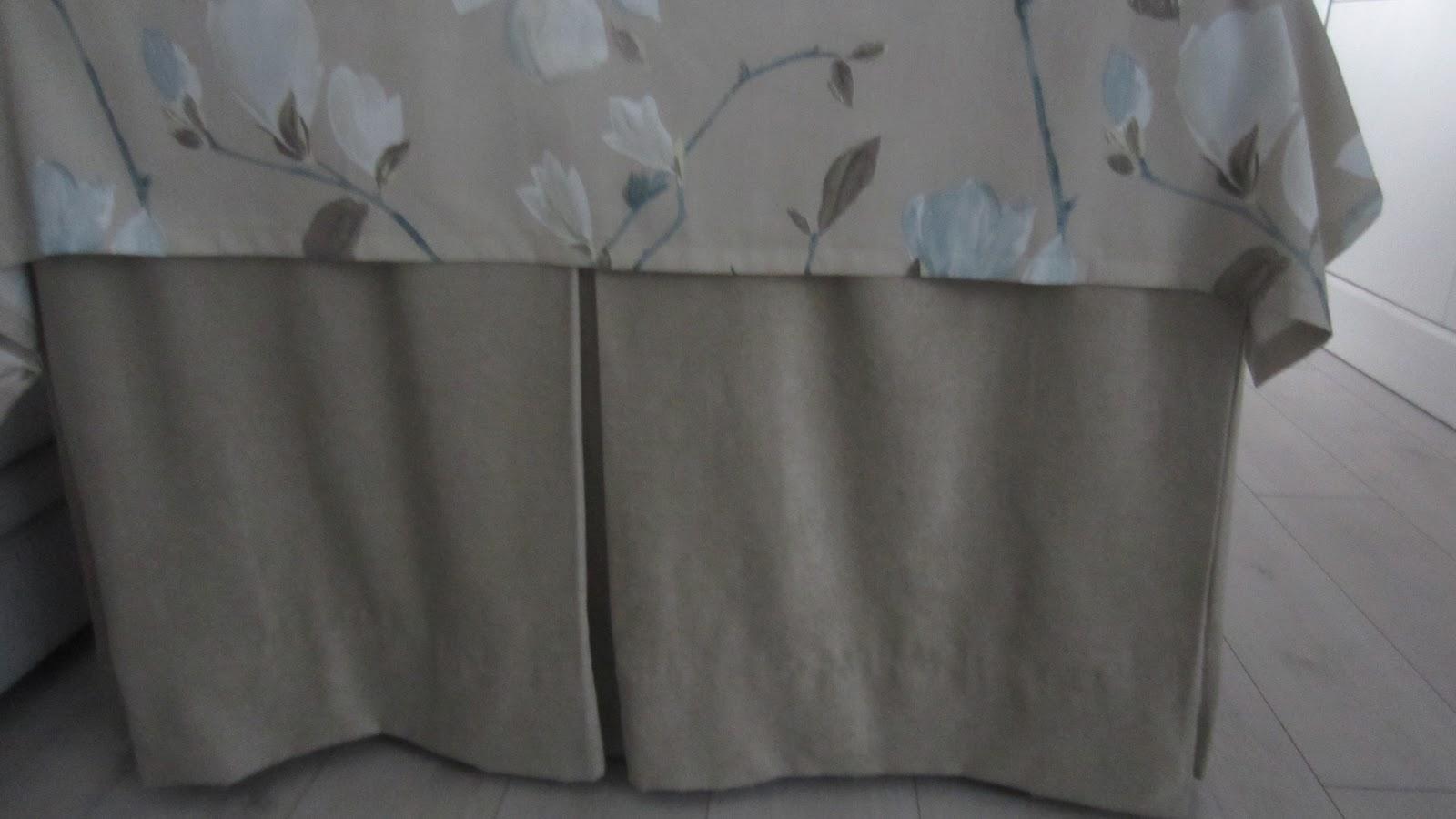 Patrones de costura falda de camilla rectangular con fuelles for Falda mesa camilla carrefour