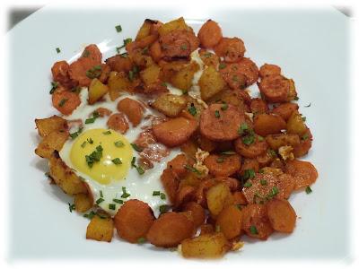 cuisine campus pommes de terre carottes et oeuf au four. Black Bedroom Furniture Sets. Home Design Ideas