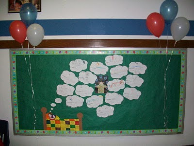 Kindergarten is a Hoot!: March is Reading Month Bulletin Board