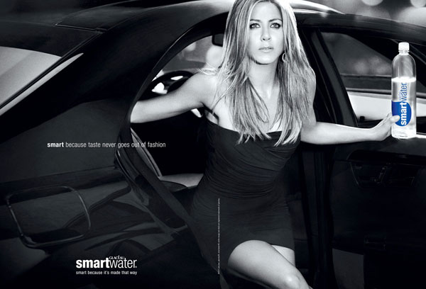 Hot at 42: Jennifer Aniston in Smartwater Ad