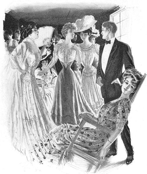 1900-1909 Dönemi Kıyafet Modası