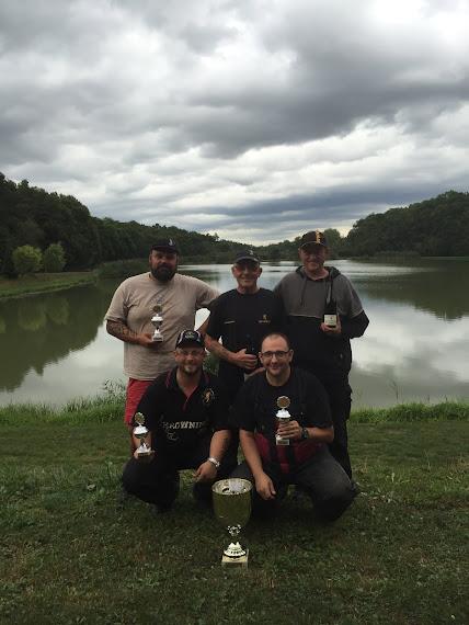 Mannschafts-Sieger des LAV Königsfischen Feeder 2016