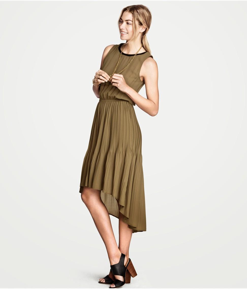%C5%9Fifon+elbiseler H & M 2014 Sommer Kleidung Models
