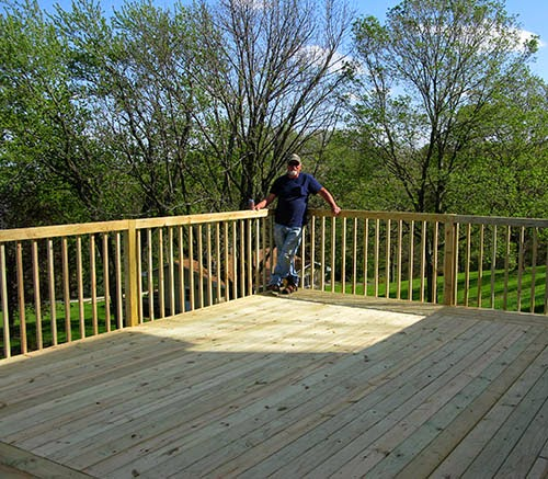 Bob Finished with deck