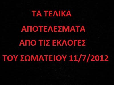 ΕΚΛΟΓΕΣ 11/7/2012