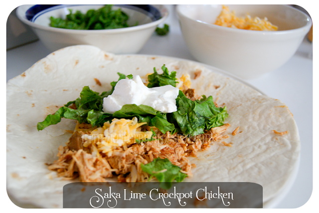 Salsa Lime Crock Pot Chicken