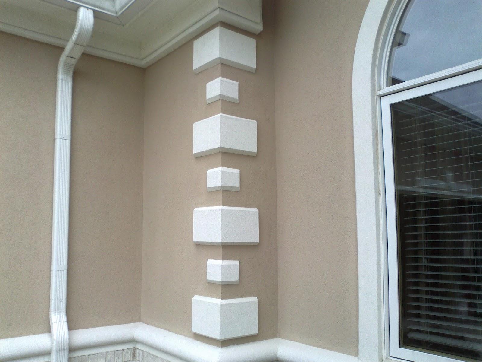 Indiana dryvit contractors Exterior wall plaster design