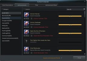 Cabal Online Achievements