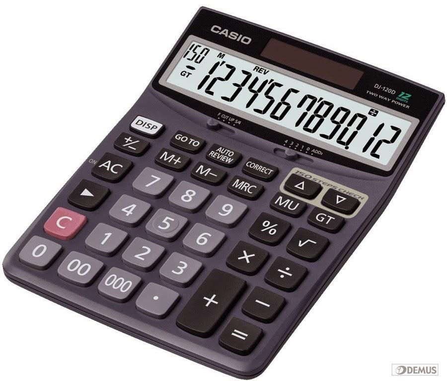 Terciptanya Alat Hitung Kalkulator