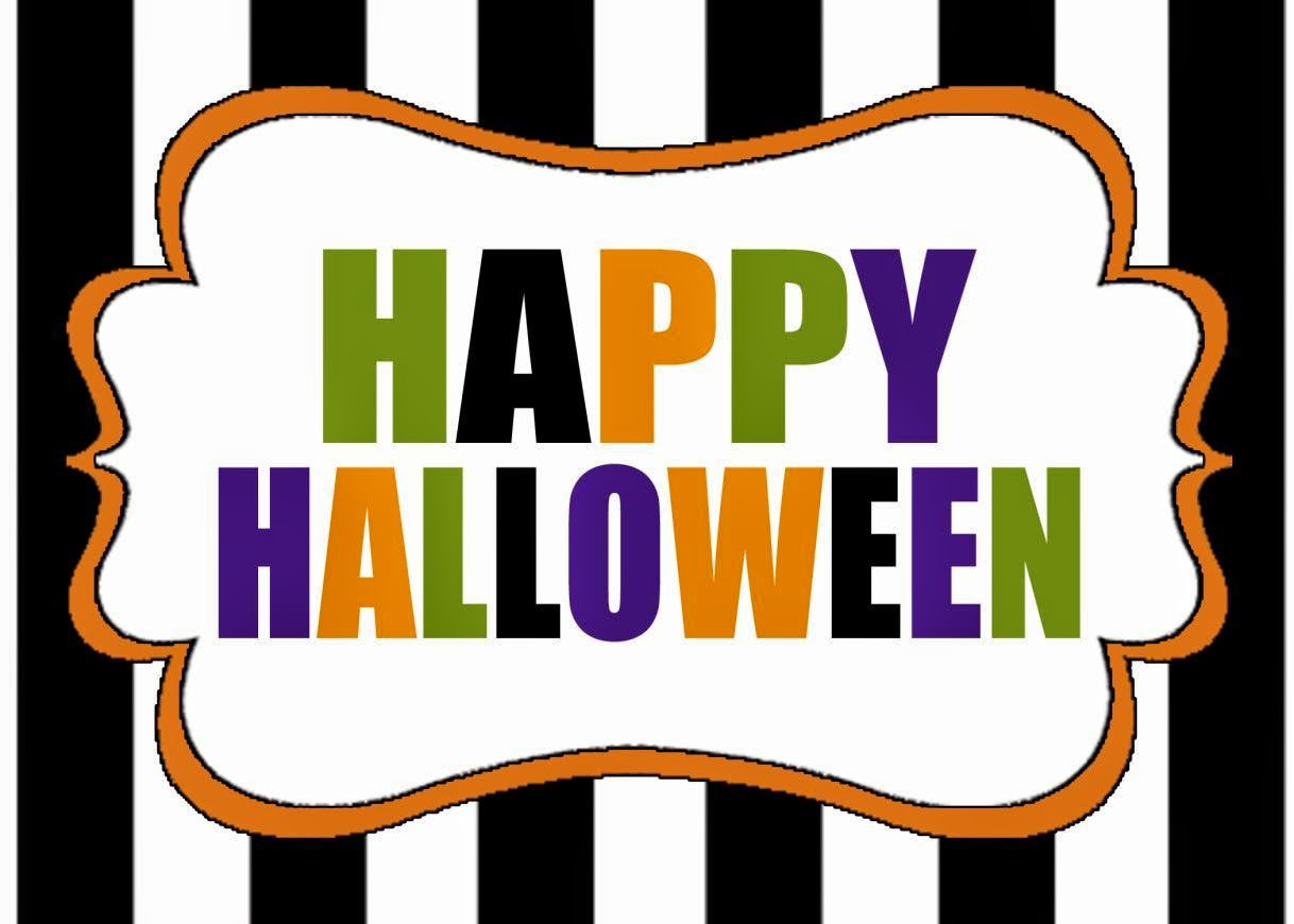 It's just a photo of Juicy Happy Halloween Printable