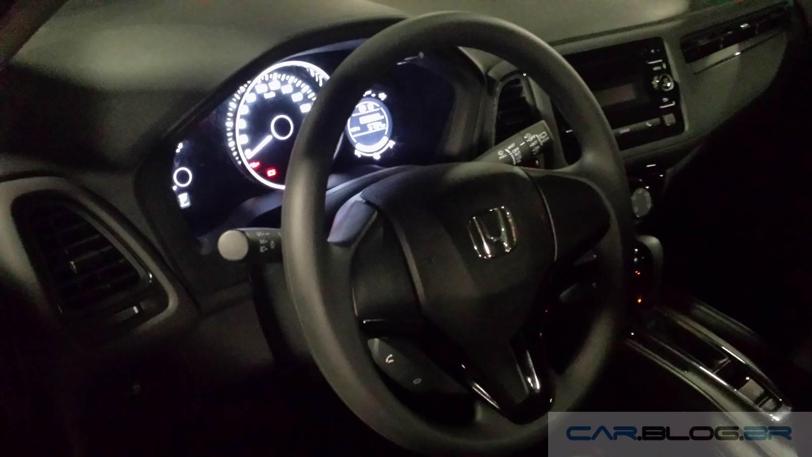Honda HR-V LX Automático - interior