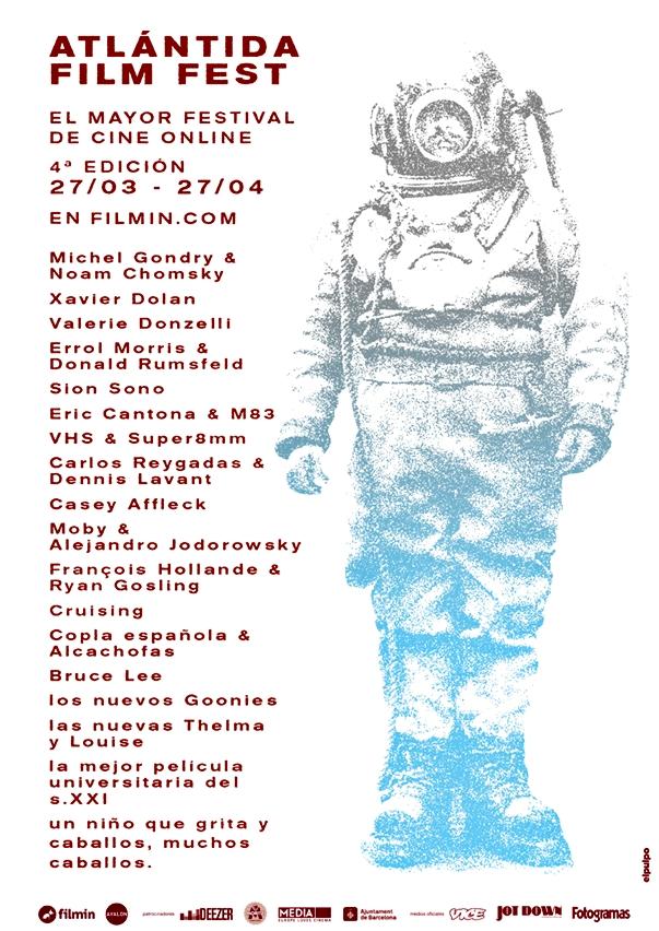 Atlántida Film Fest 2014 póster