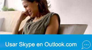 Como usar Skype en tu Correo Outlook