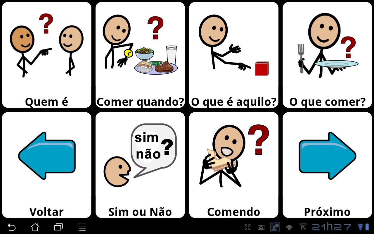 Livox app para comunicacao com deficientes