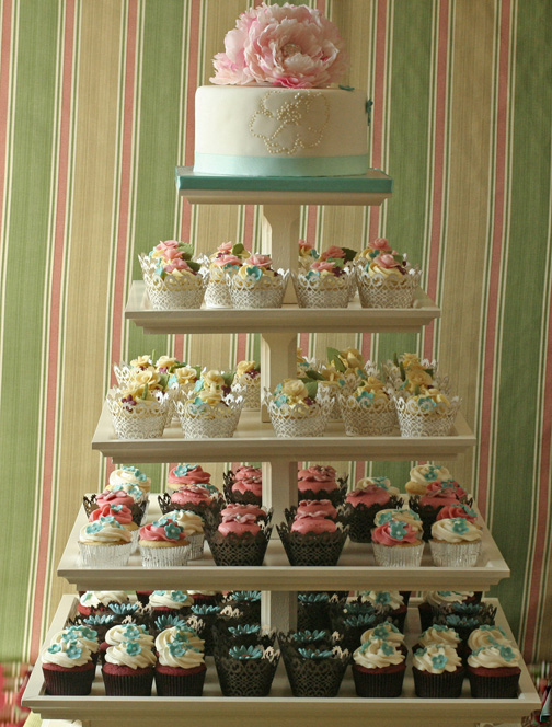 Cupcake And Cake Tower