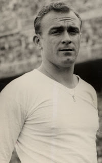 Alfredo Di Stefano in Real Madrid jersey