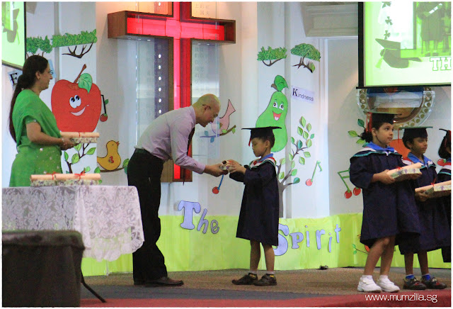 Adam Tan tian kai graduate K2 changi bethany school house kindergarten