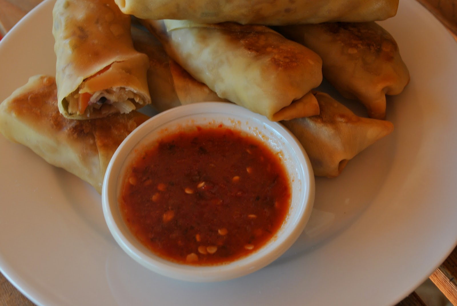my kaotic kitchen: quick and easy baked egg rolls