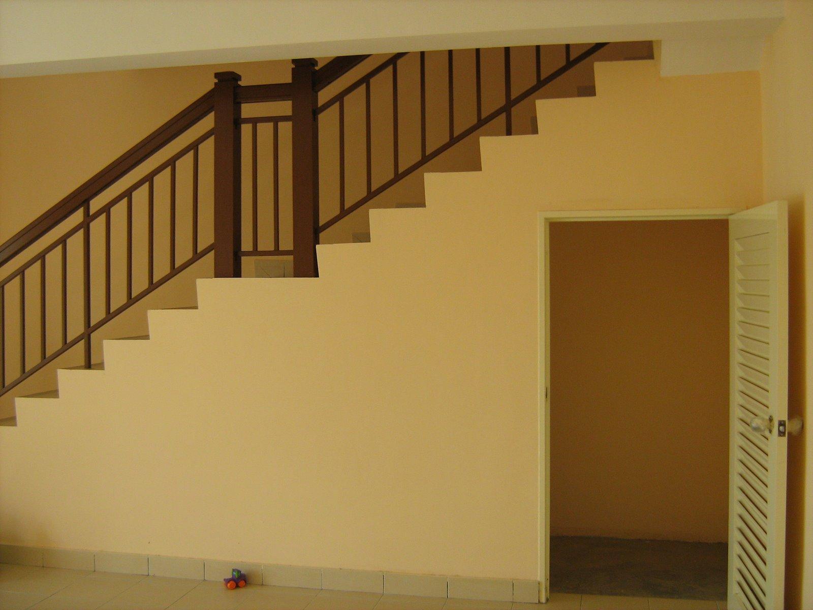 ... Baitul Mawaddah   Part 4 : Idea design tangga untuk rumah 2 tingkat