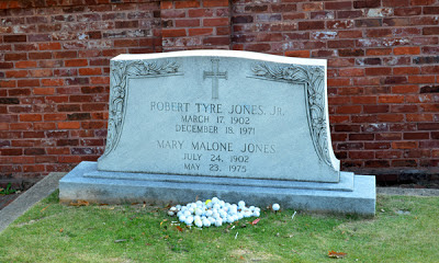 Bobby Jones' Grave, Historic Oakland Cemetery