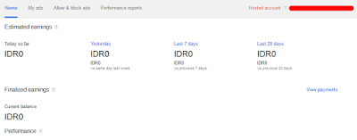 Laporan pendapatan menggunakan IDR (Indonesia Rupiah)