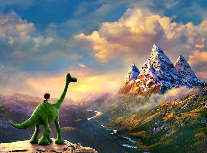 El viaje de Arlo (The Good Dinosaur, Peter Sohn, EE.UU, 2015).