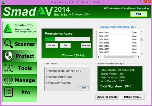 SmadAV 2014 Pro v9.8.1