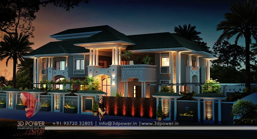 3D Architectural Rendering Bungalow Exterior Part 53
