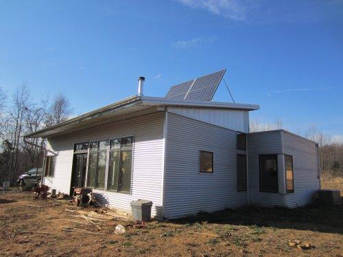 Passive Solar Prefab Home Is Thankful Through Thanksgiving